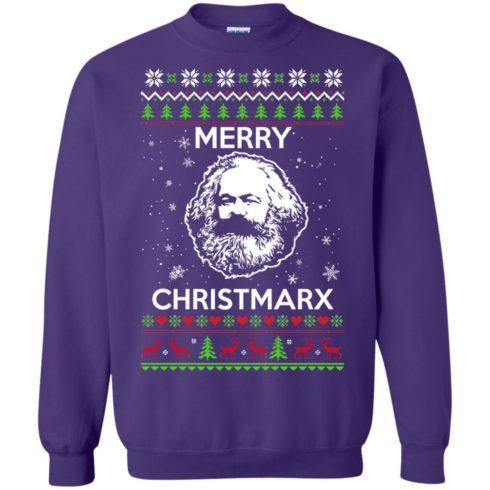 image 735 490x490px Karl Marx Merry ChristMarx Ugly Christmas Sweater
