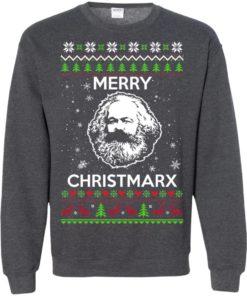 image 736 247x296px Karl Marx Merry ChristMarx Ugly Christmas Sweater