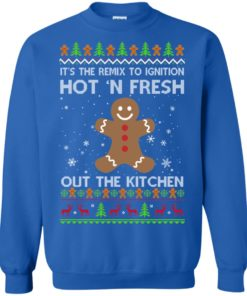 image 741 247x296px It's The Remix To Ignition Hot 'N Fresh Out The Kitchen Christmas Sweater