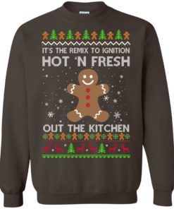 image 742 247x296px It's The Remix To Ignition Hot 'N Fresh Out The Kitchen Christmas Sweater