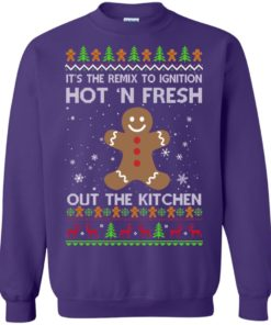 image 743 247x296px It's The Remix To Ignition Hot 'N Fresh Out The Kitchen Christmas Sweater