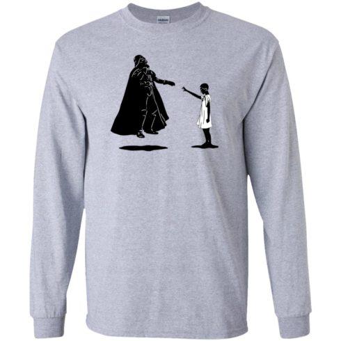 image 756 490x490px Stranger Things – Eleven vs Darth Vader Star Wars T Shirts, Hoodies, Tank