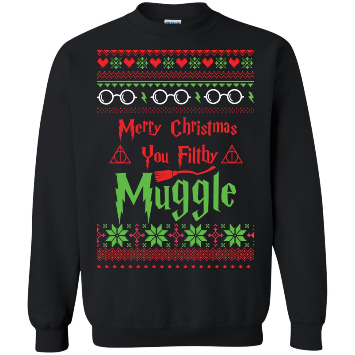 image 776px Merry Christmas You Filthy Muggle Harry Potter Christmas Sweater