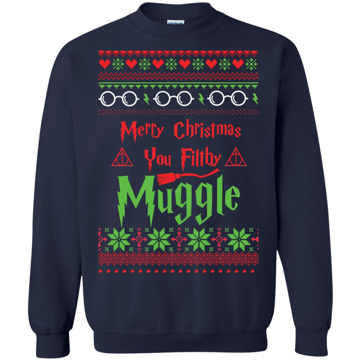 image 778px Merry Christmas You Filthy Muggle Harry Potter Christmas Sweater