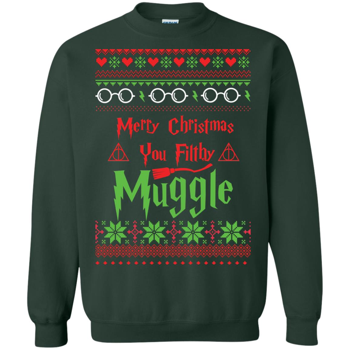 image 779px Merry Christmas You Filthy Muggle Harry Potter Christmas Sweater