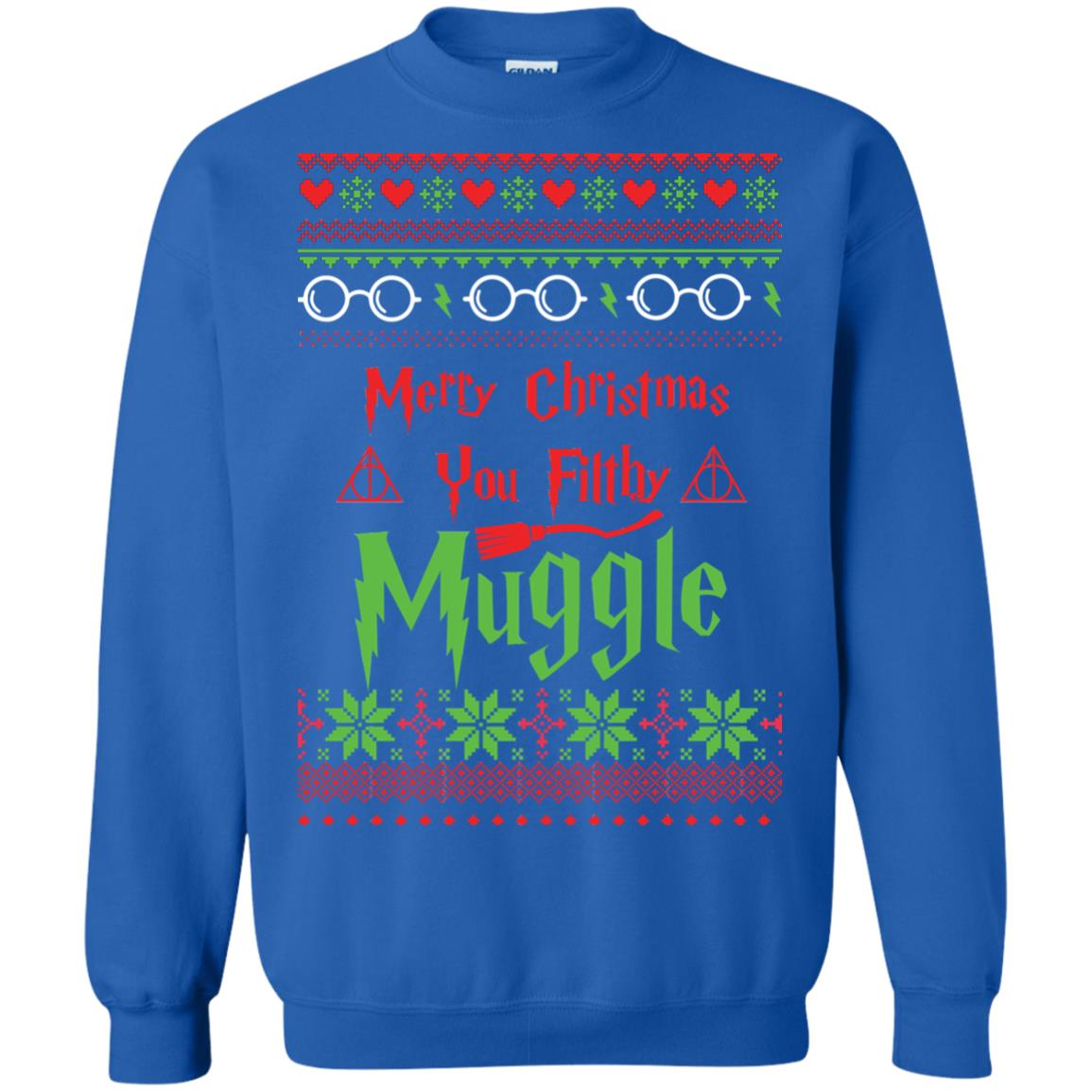 image 780px Merry Christmas You Filthy Muggle Harry Potter Christmas Sweater