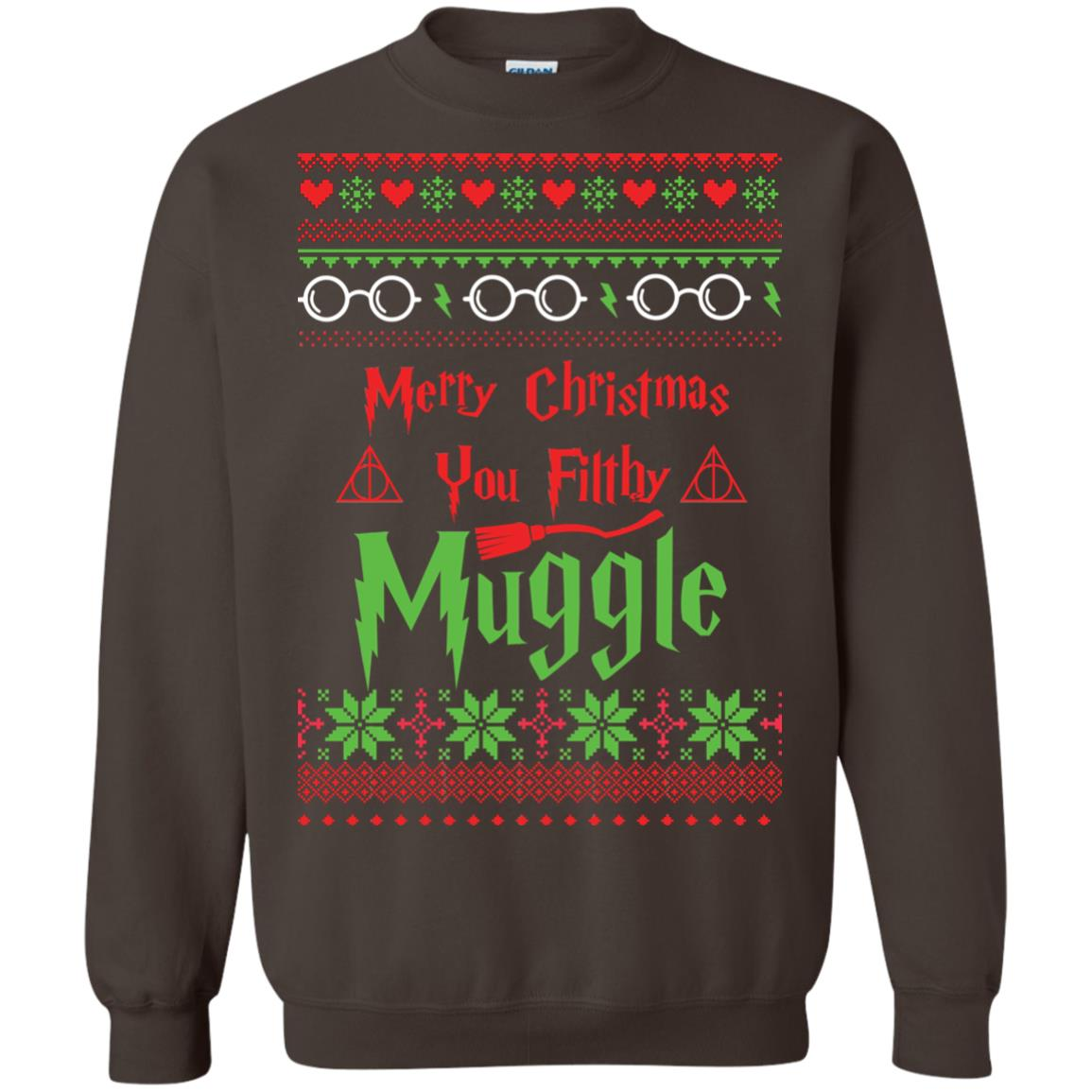 image 781px Merry Christmas You Filthy Muggle Harry Potter Christmas Sweater