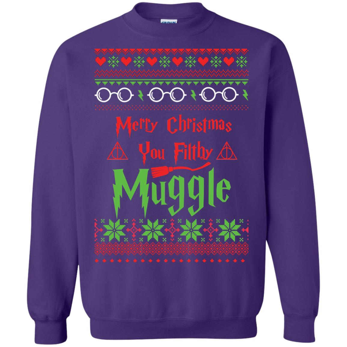 image 782px Merry Christmas You Filthy Muggle Harry Potter Christmas Sweater