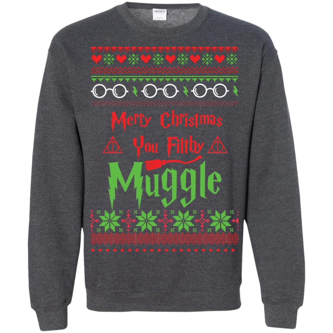 image 783px Merry Christmas You Filthy Muggle Harry Potter Christmas Sweater