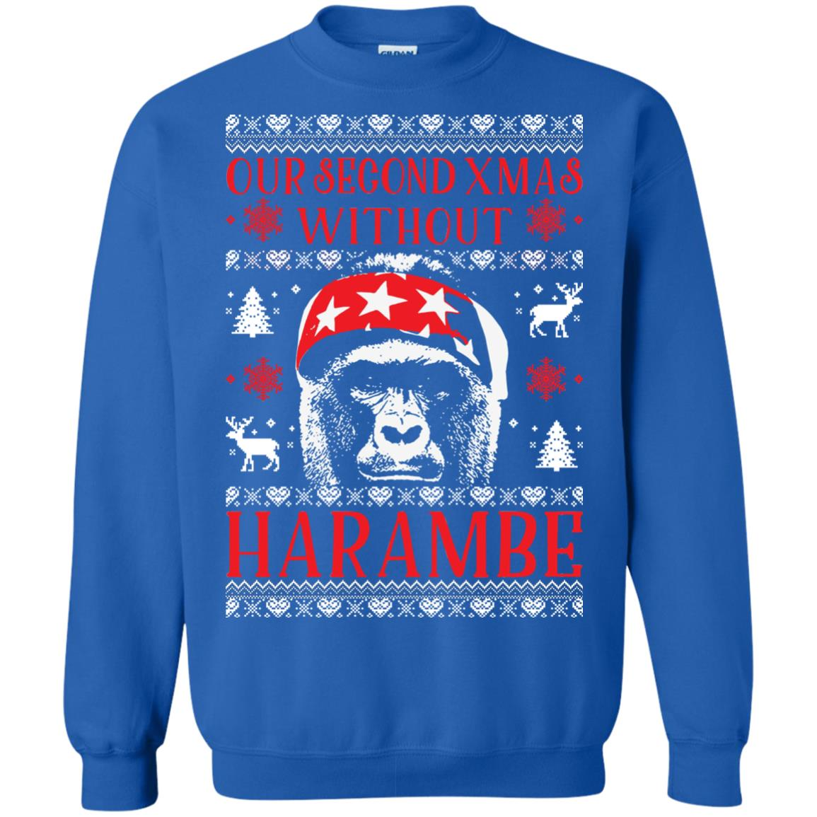 image 885px Our Second Xmas Without Harambe Christmas Sweater