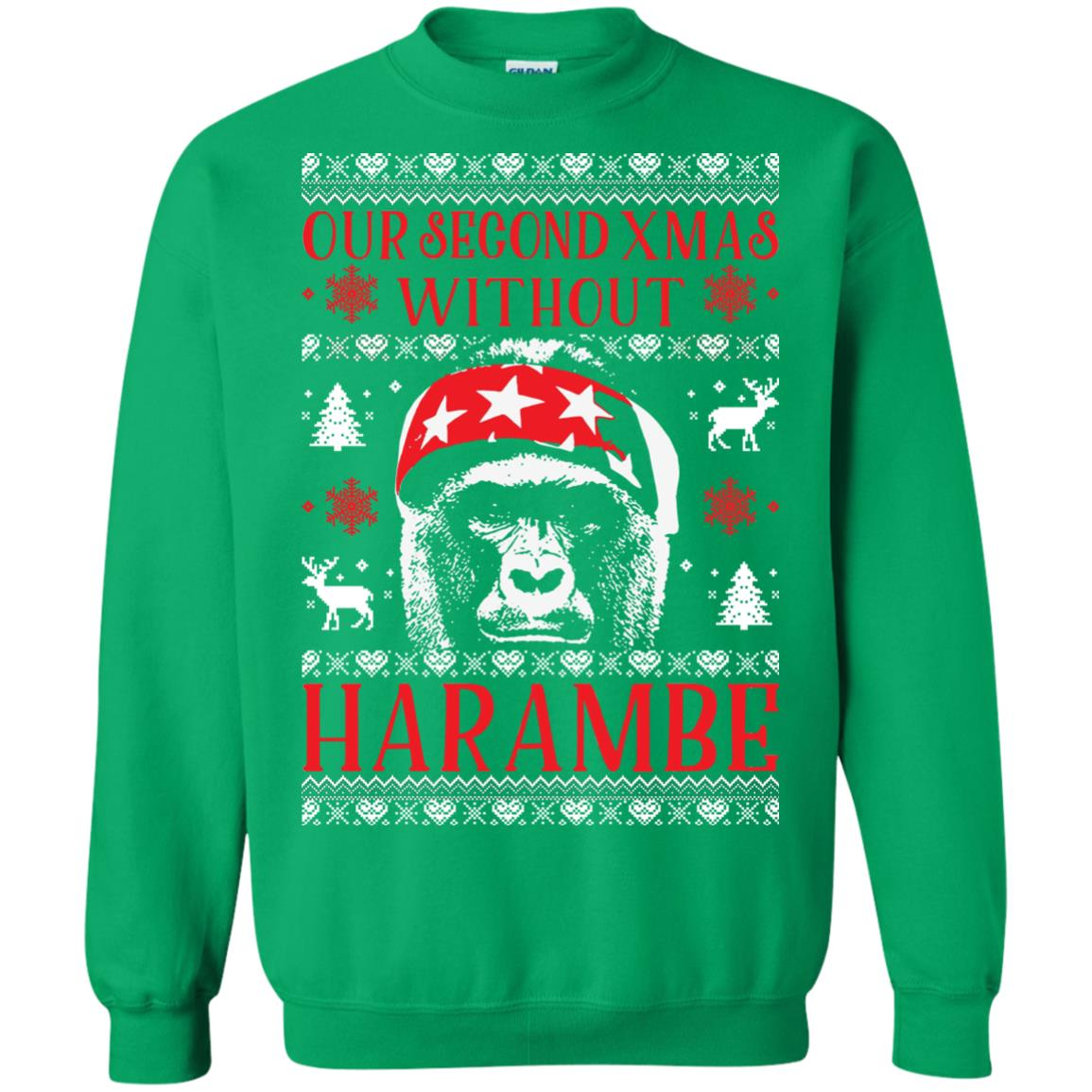 image 888px Our Second Xmas Without Harambe Christmas Sweater