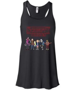 image 891 247x296px Schwifty Things Stranger Things vs Rick and Morty T Shirts, Hoodies, Tank Top