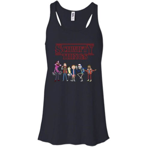 image 892 490x490px Schwifty Things Stranger Things vs Rick and Morty T Shirts, Hoodies, Tank Top