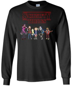 image 893 247x296px Schwifty Things Stranger Things vs Rick and Morty T Shirts, Hoodies, Tank Top