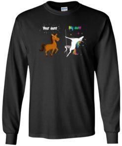 image 937 247x296px My aunt unicorn vs your aunt horse t shirt, hoodies, tank top