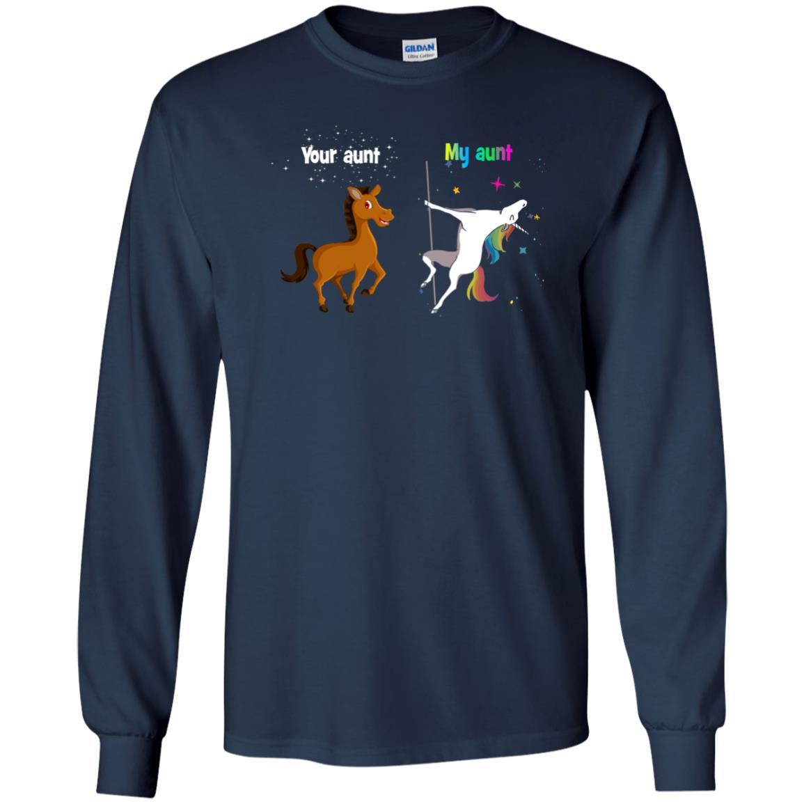 image 938px My aunt unicorn vs your aunt horse t shirt, hoodies, tank top