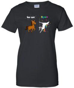 image 943 247x296px My aunt unicorn vs your aunt horse t shirt, hoodies, tank top