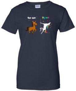 image 944 247x296px My aunt unicorn vs your aunt horse t shirt, hoodies, tank top