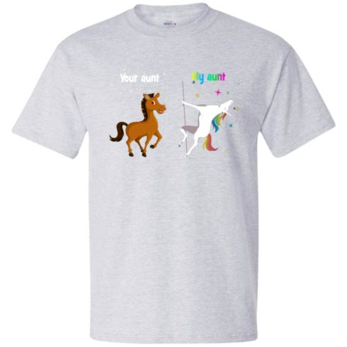 image 945 490x490px My aunt unicorn vs your aunt horse youth t shirt