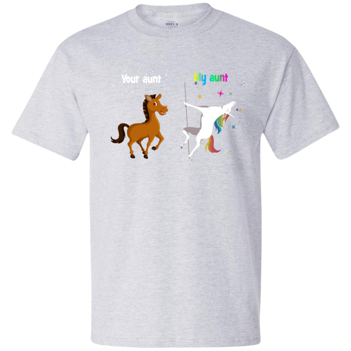 image 945px My aunt unicorn vs your aunt horse youth t shirt