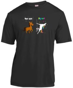 image 950 247x296px My aunt unicorn vs your aunt horse youth t shirt