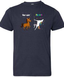 image 953 247x296px My aunt unicorn vs your aunt horse youth t shirt