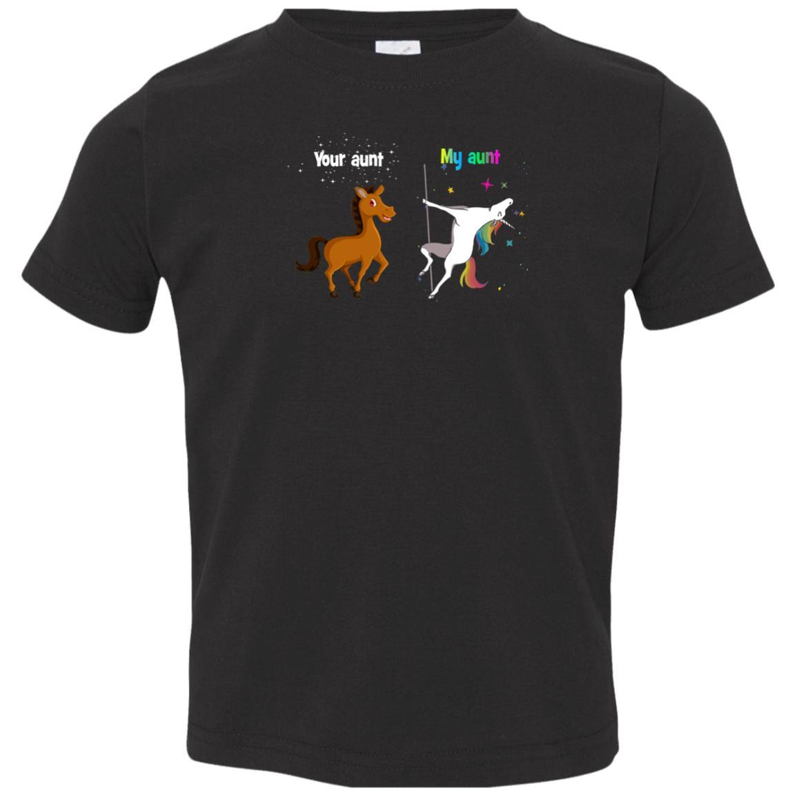 image 955px My aunt unicorn vs your aunt horse youth t shirt