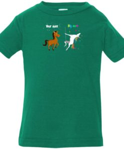 image 956 247x296px My aunt unicorn vs your aunt horse youth t shirt