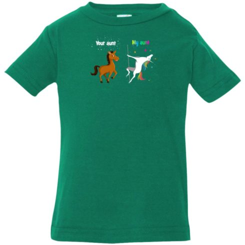 image 956 490x490px My aunt unicorn vs your aunt horse youth t shirt
