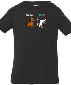 image 957 247x296px My aunt unicorn vs your aunt horse youth t shirt