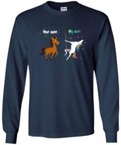 image 966 247x296px My aunt unicorn vs your aunt horse youth t shirt