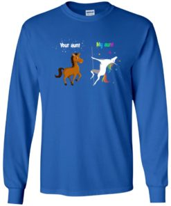 image 967 247x296px My aunt unicorn vs your aunt horse youth t shirt