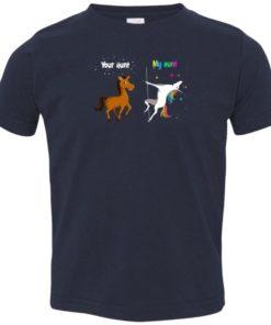 image 971 247x296px My aunt unicorn vs your aunt horse youth t shirt