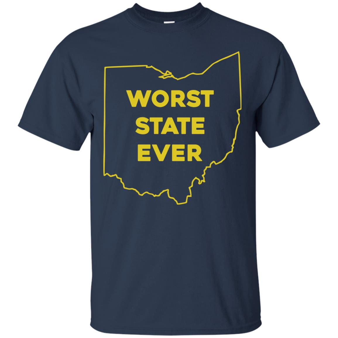 image 974px Ohio Worst State Ever T Shirts, Hoodies, Tank Top Available