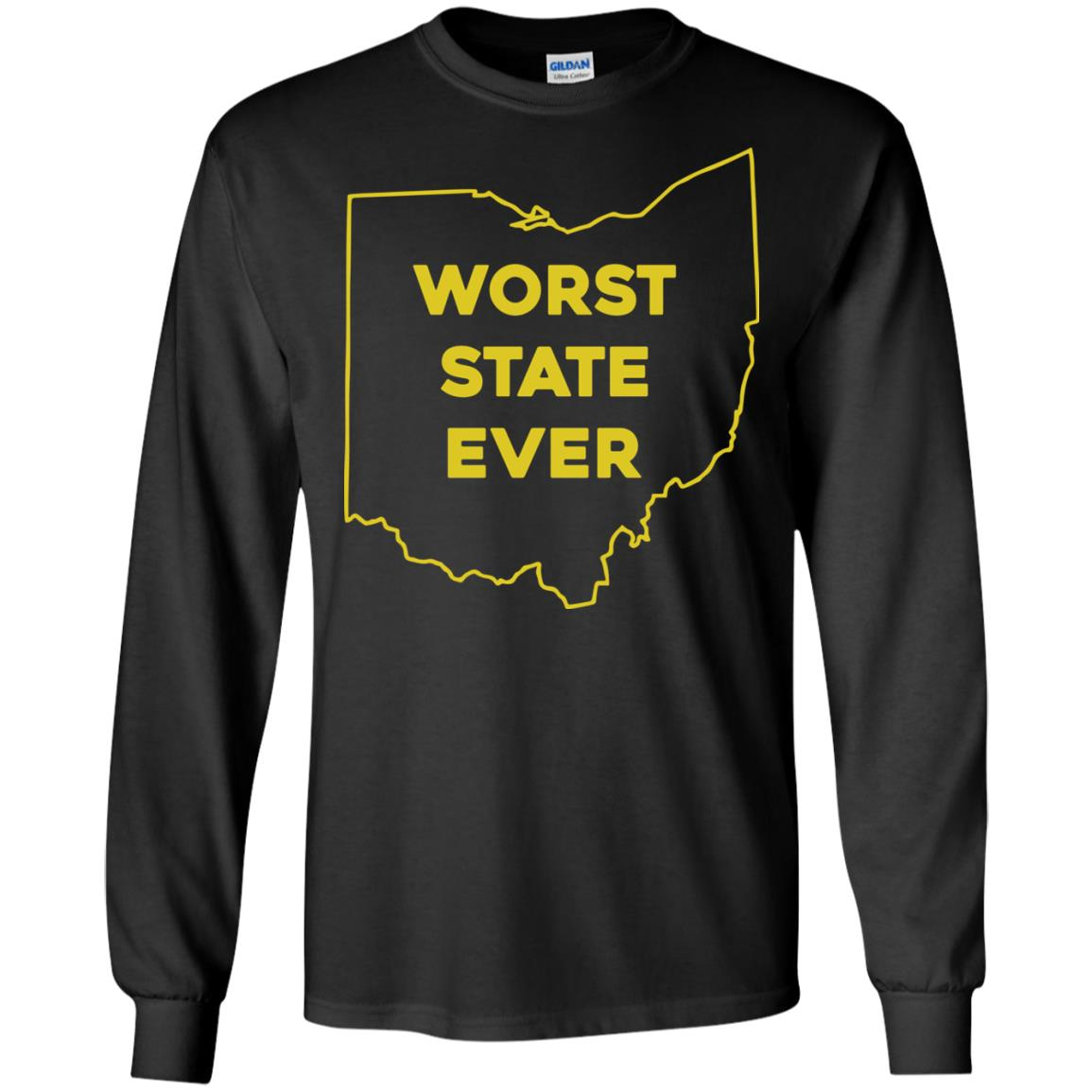 image 977px Ohio Worst State Ever T Shirts, Hoodies, Tank Top Available