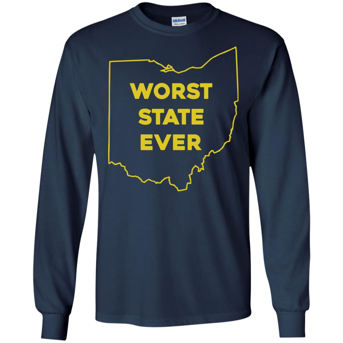 image 978px Ohio Worst State Ever T Shirts, Hoodies, Tank Top Available