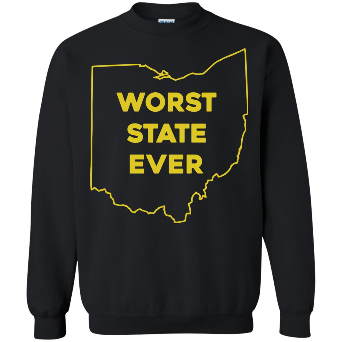 image 981px Ohio Worst State Ever T Shirts, Hoodies, Tank Top Available