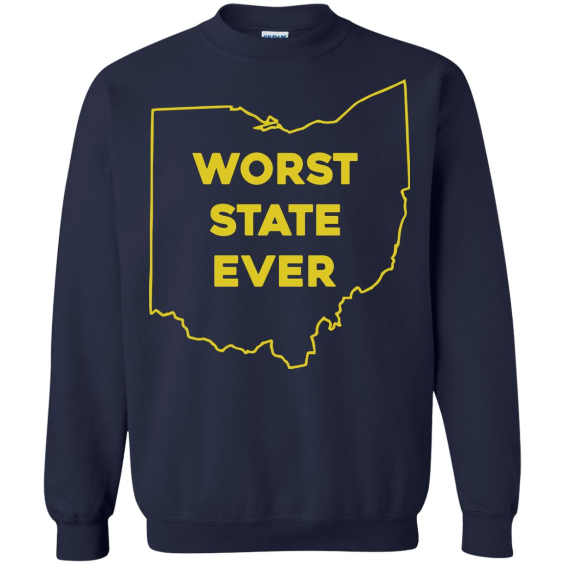 image 982px Ohio Worst State Ever T Shirts, Hoodies, Tank Top Available