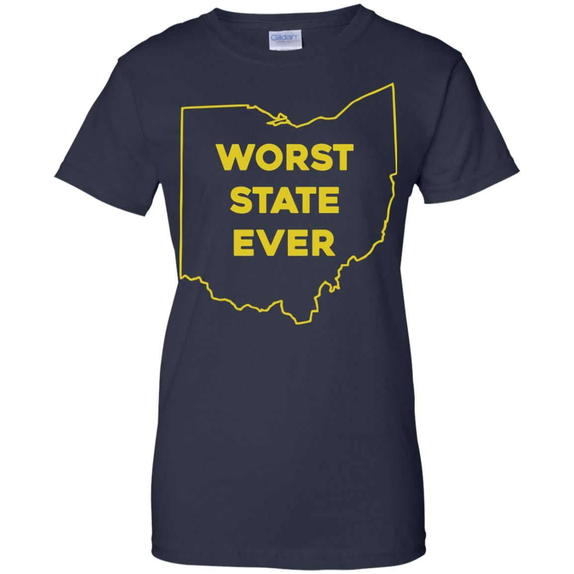 image 984px Ohio Worst State Ever T Shirts, Hoodies, Tank Top Available