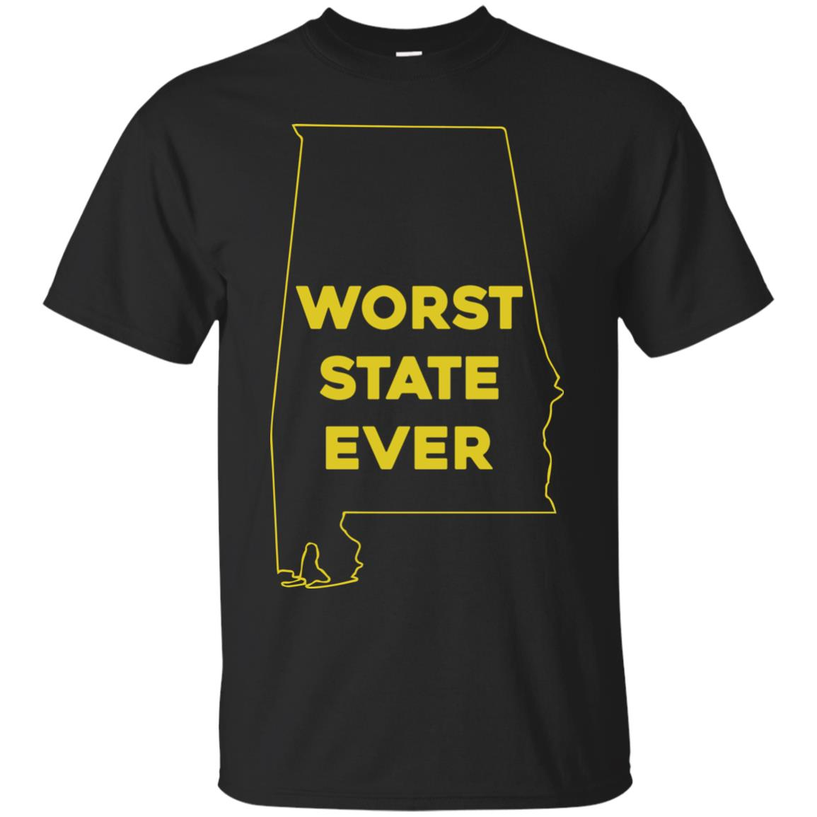 image 985px Alabama Worst State Ever T Shirts, Hoodies, Tank