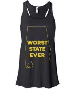 image 987 247x296px Alabama Worst State Ever T Shirts, Hoodies, Tank