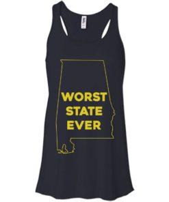 image 988 247x296px Alabama Worst State Ever T Shirts, Hoodies, Tank