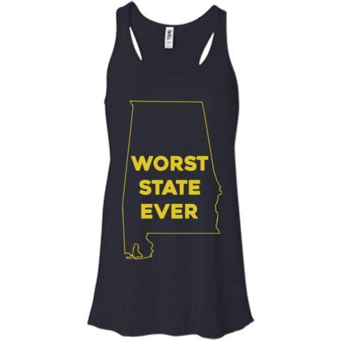 image 988 490x490px Alabama Worst State Ever T Shirts, Hoodies, Tank