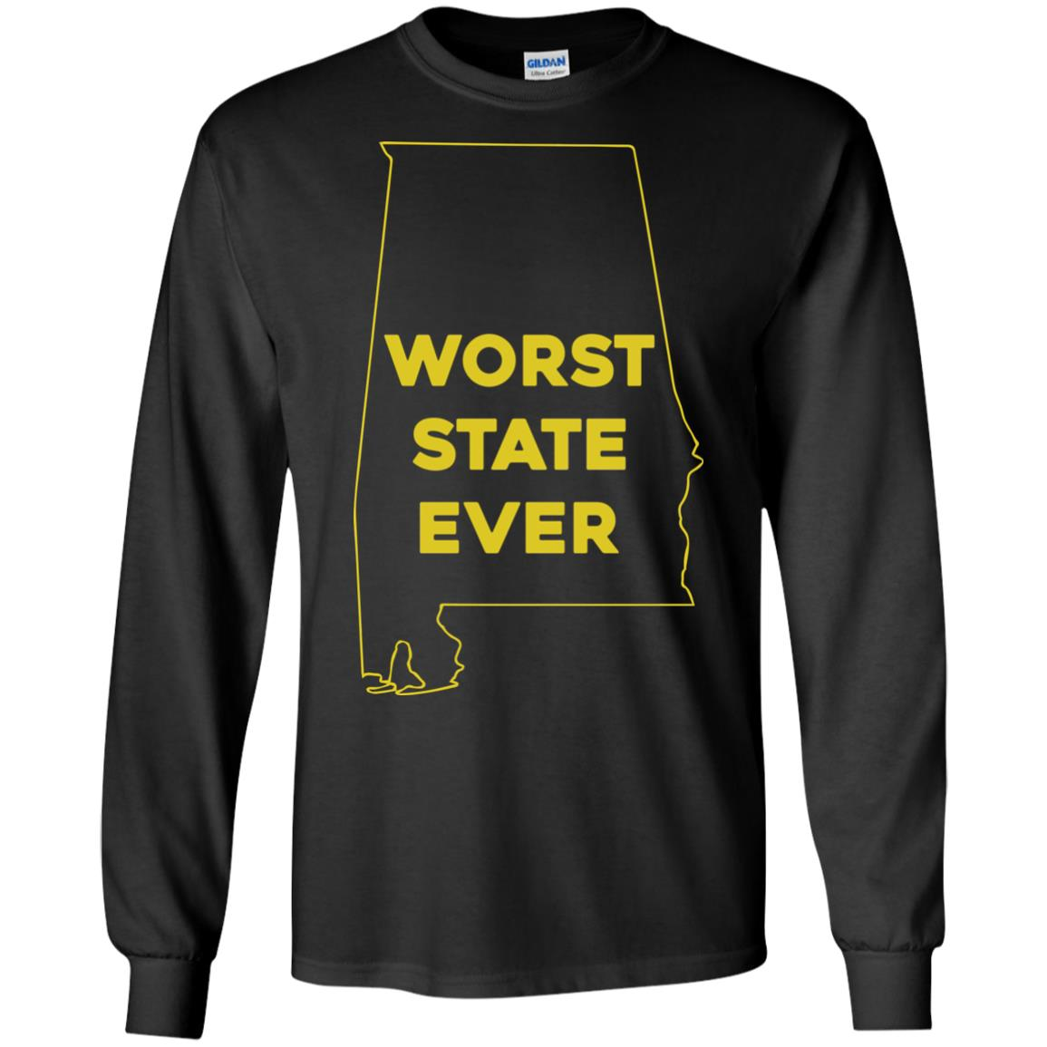 image 989px Alabama Worst State Ever T Shirts, Hoodies, Tank