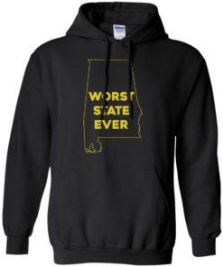 image 991 247x296px Alabama Worst State Ever T Shirts, Hoodies, Tank