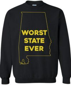 image 993 247x296px Alabama Worst State Ever T Shirts, Hoodies, Tank