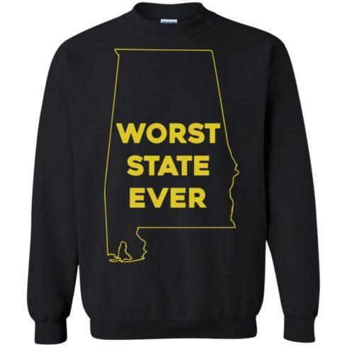 image 993 490x490px Alabama Worst State Ever T Shirts, Hoodies, Tank