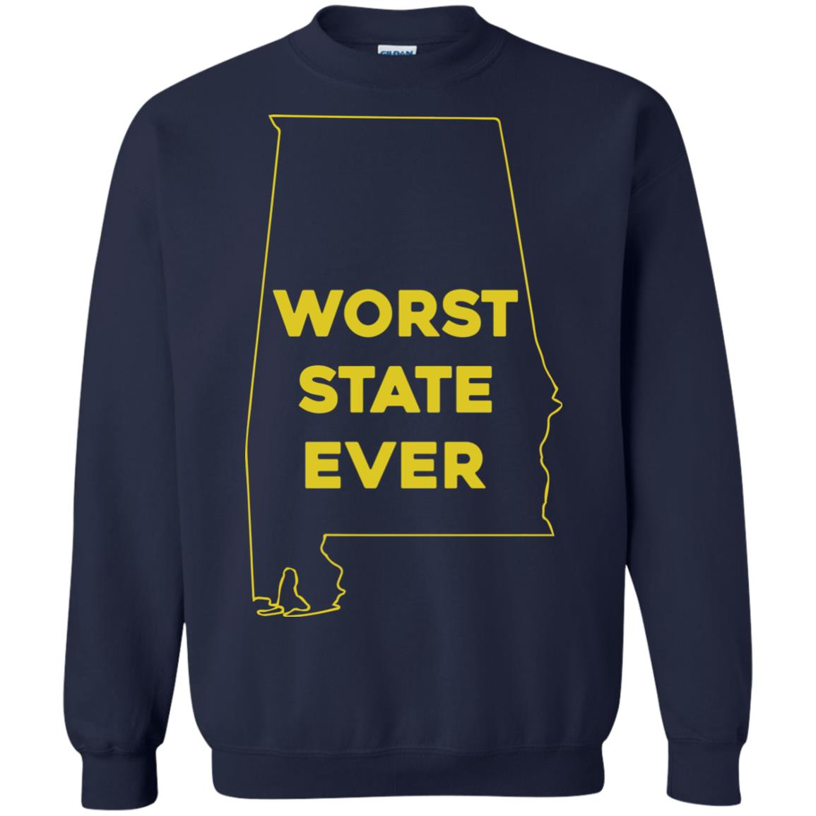 image 994px Alabama Worst State Ever T Shirts, Hoodies, Tank