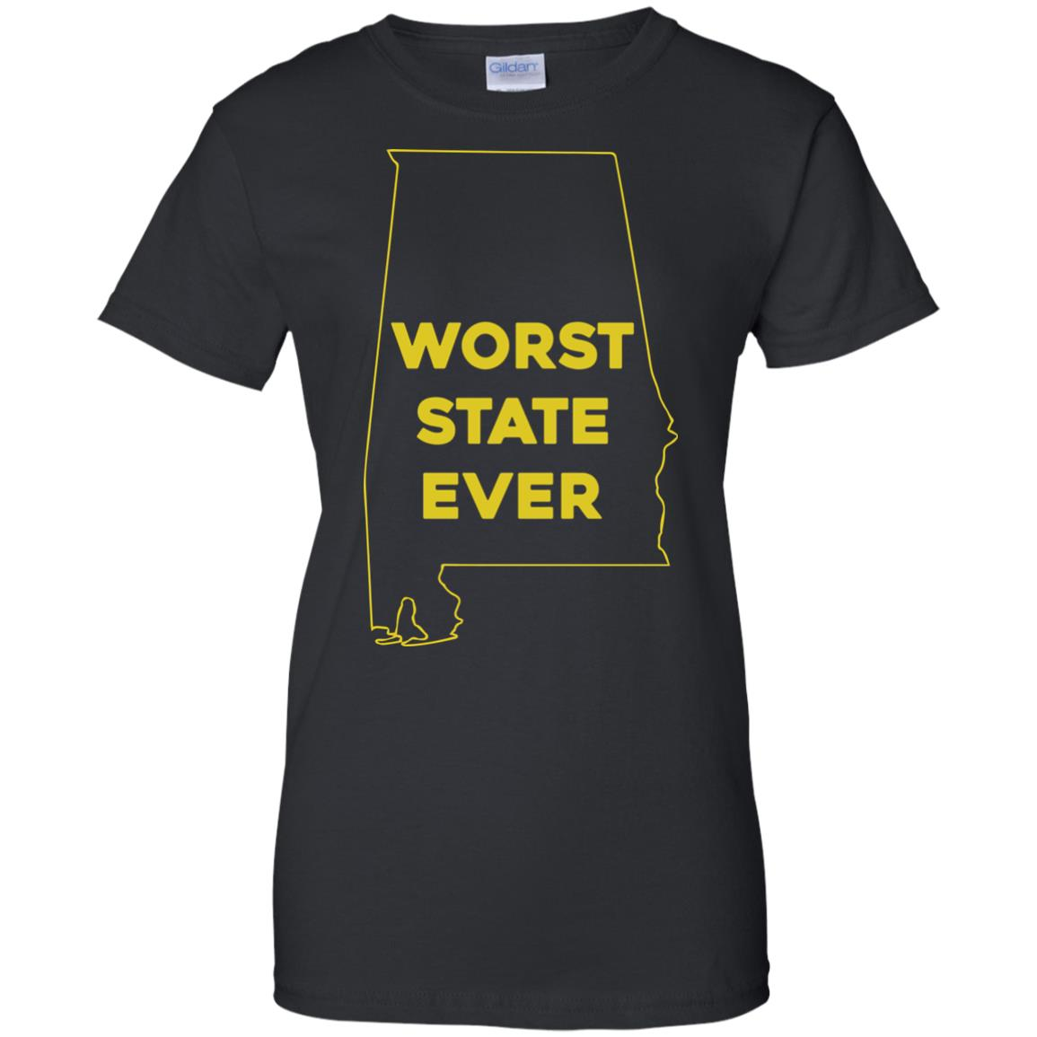 image 995px Alabama Worst State Ever T Shirts, Hoodies, Tank
