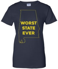 image 996 247x296px Alabama Worst State Ever T Shirts, Hoodies, Tank